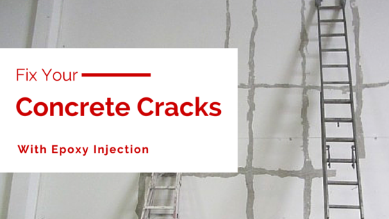 Fix your concrete panel cracks with epoxy injection.