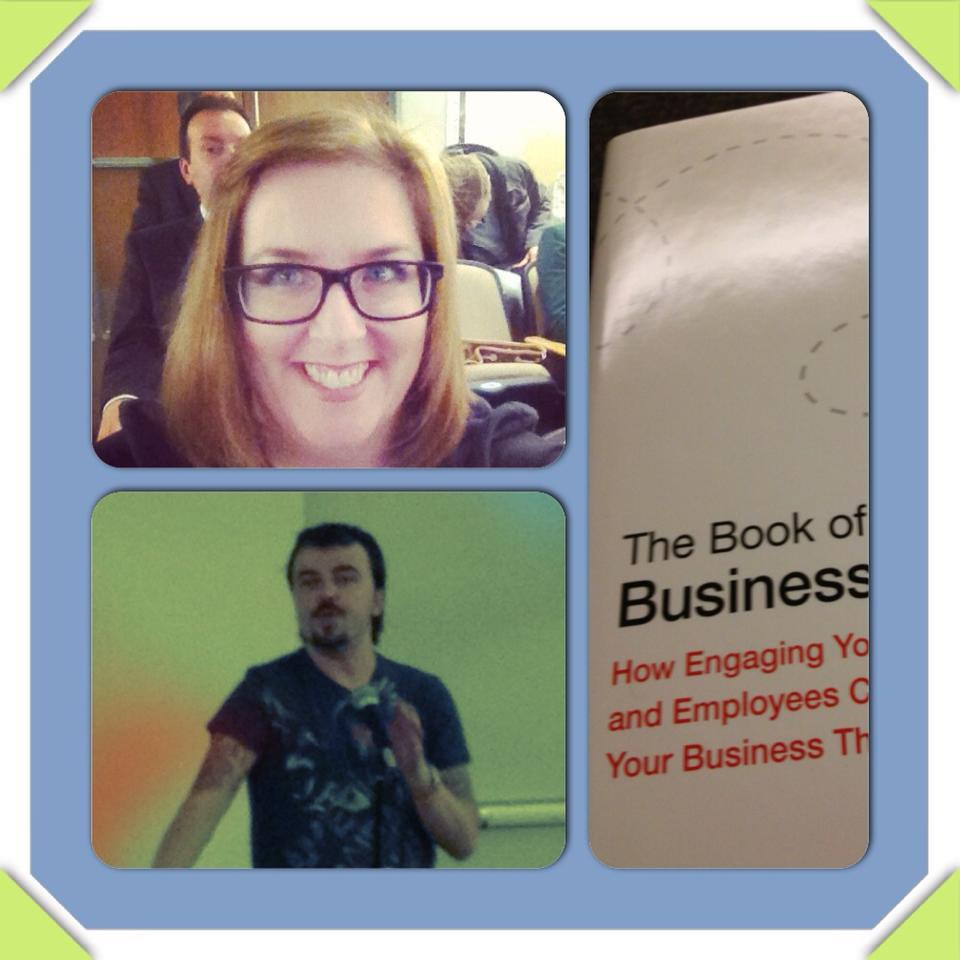 Bridget at the Book of Business Awesome Event 11/14/12