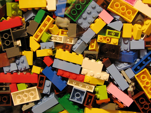 Lego Bricks by Benjamin Esham, on Flickr