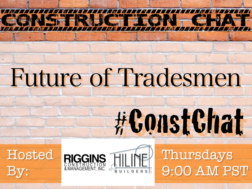 #ConstChat - Future of Tradesmen