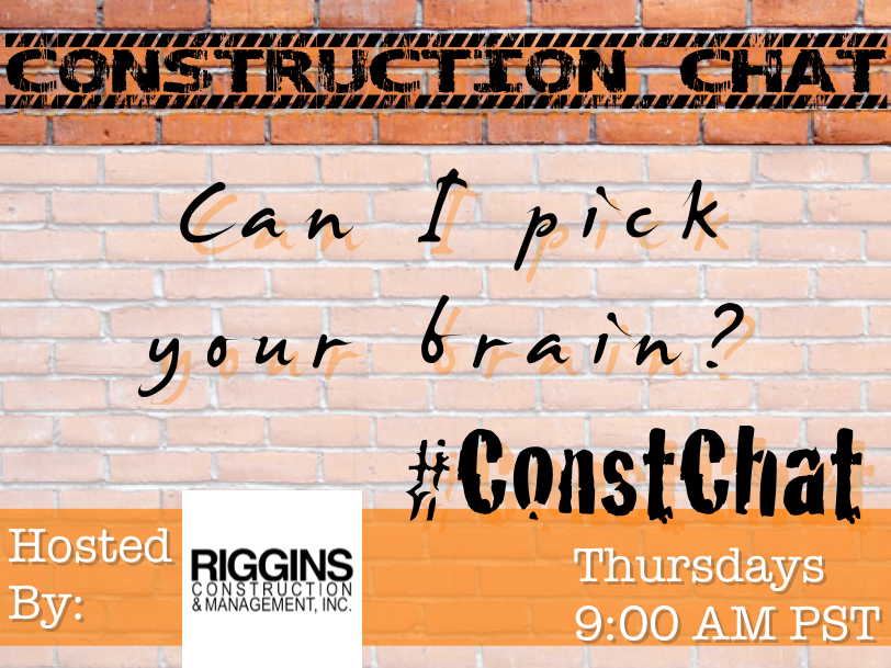 #ConstChat Can I Pick Your Brain?