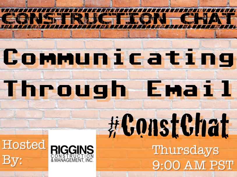 #ConstChat Communicating Through Email