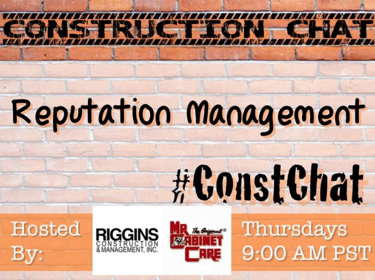#ConstChat Reputation Management