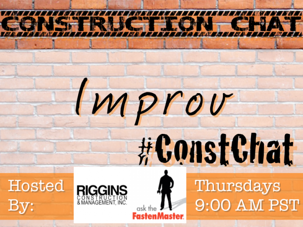 #ConstChat co-hosted by @FastenMaster 6/18/15