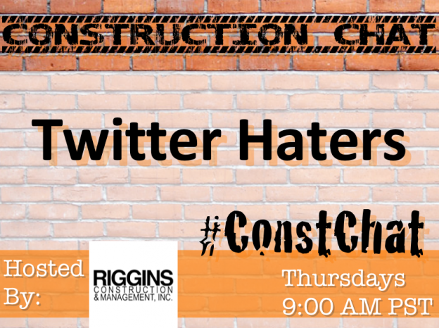 Twitter Haters #ConstChat Topic 9/17/15