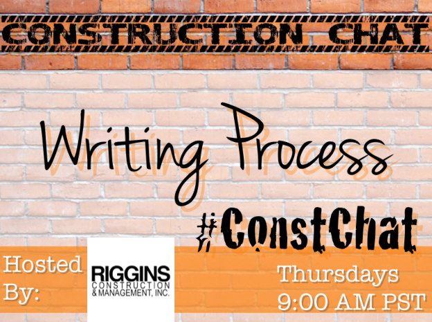 Writing Process - #ConstChat Questions 10/1/15