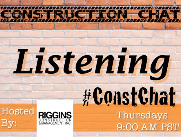 Listening on Social Media - #ConstChat 11/5/15